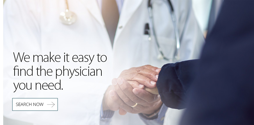Its easy to find the physician you need at Marshall Medical