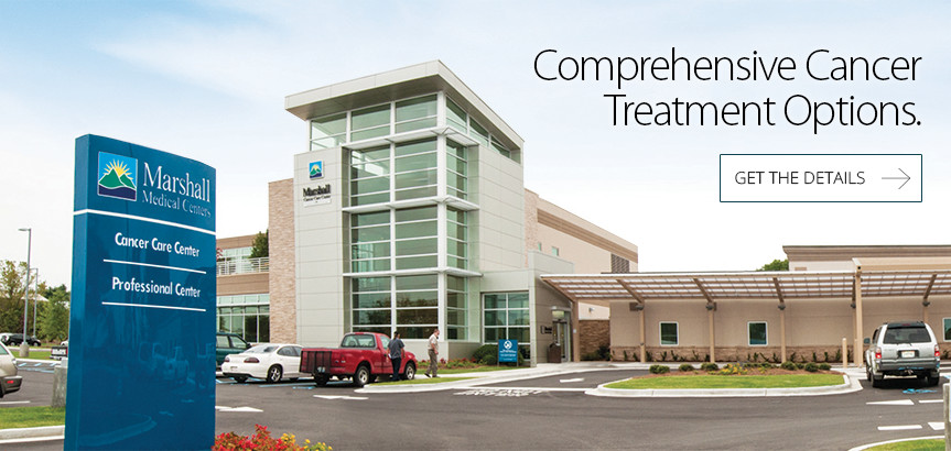 Comprehensive cancer treatment options at Marshall Medicals Cancer Care Center
