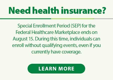 Federal Healthcare Marketplace Enrollment