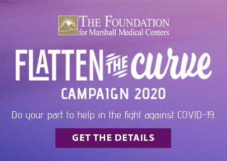 Flatten The Curve Campaign 2020 for The Foundation for Marshall Medical Centers
