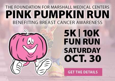 Pink Pumpkin Run 2021 - Friday October 30