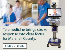 Telemedicine brings stroke response into clear focus for Marshall County